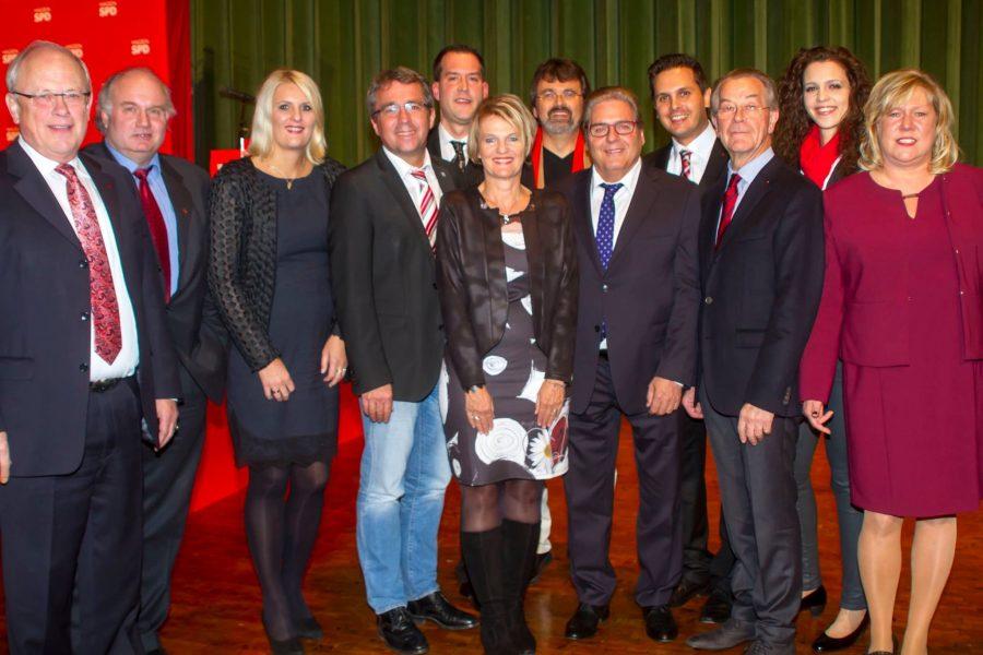 Brucker Genossen gratulieren der SPD