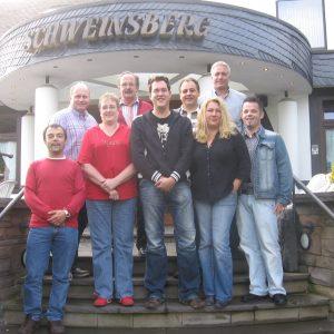 Im Hotel Schweinsberg in Lennestadt gingen die Genossen in Klausur