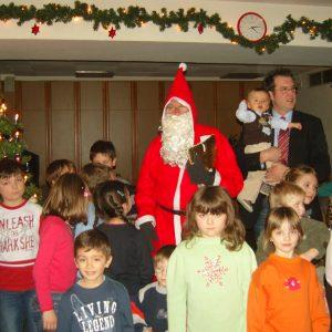 Hohenlimburgs bester Nikolaus im Einsatz.
